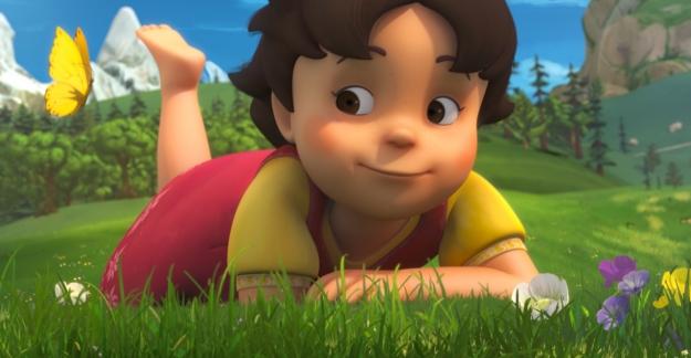 Sevilen çizgi dizi Heidi, 3D versiyonuyla geri dönüyor! Heidi TRT Çocuk'ta!