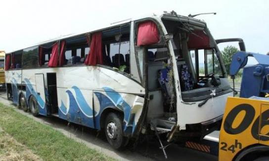 Sırbistan'da otobüs kazası, 5 ölü