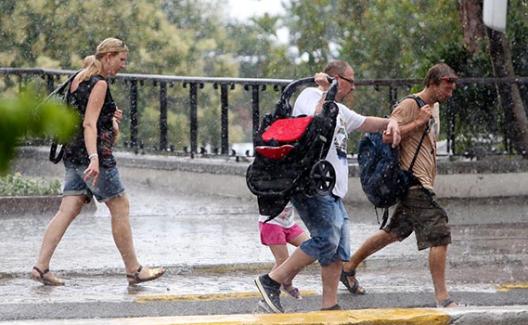 Tekirdağ, Kırklareli ve Edirne'de kuvvetli yağış uyarısı
