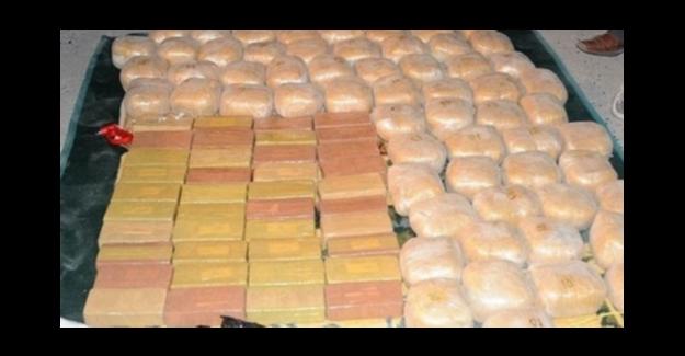 TIR'ın içinden 311 kilo eroin çıktı