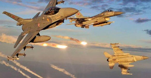 TSK ve koalisyon uçaklarından saldırısı hazırlığındaki IŞİD'e darbe!