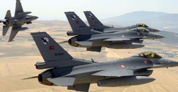 Türk Jetleri K.Irak'taki PKK hedeflerine bomba yağdırdı!