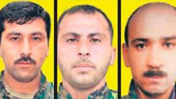 Üst düzey 3 YPG'li öldürüldü!