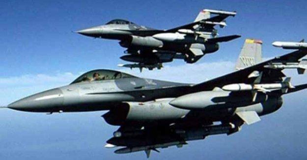 Savaş uçakları PKK hedeflerini vurdu