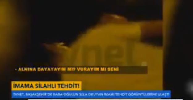 15 Temmuz gecesi sela okuyan imamın tehdit edilme görüntüleri