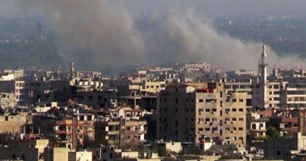 Muhalifler, Rusya'nın Şam Büyükelçiliği'ne saldırdı