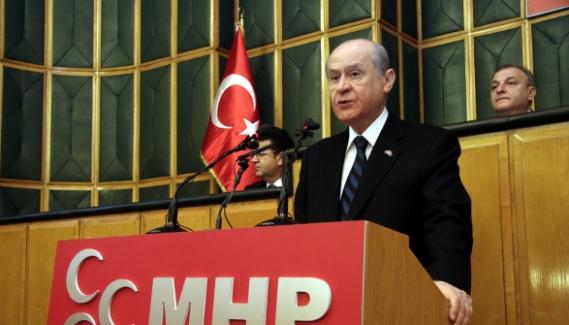 """Devlet Bahçeli, """"Ne AB ne Şangay İşbirliği biz Türk Birliği diyoruz"""""""