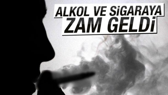 Arabadan sonra sigara ve içkiye de ÖTV zammı!