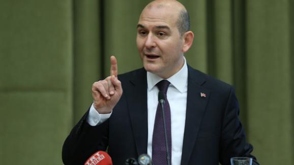 """Bakan Soylu, """"Saldırgan Ankara Çevik Kuvvet Şube Müdürlüğü'nde görev yapan.."""""""