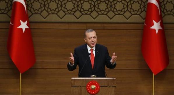 """Cumhurbaşkanı Erdoğan, """" Tüm terör örgütlerine karşı millî bir seferberlik ilan ediyorum"""""""