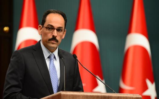 """Cumhurbaşkanı sözcüsü İbrahim Kalın, """"Halep'ten 44 bin kişi tahliye edildi"""""""