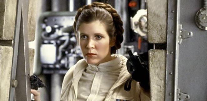 Darth Vader'ın kızı Prenses Leia (Carrie Fisher) hayatını kaybetti