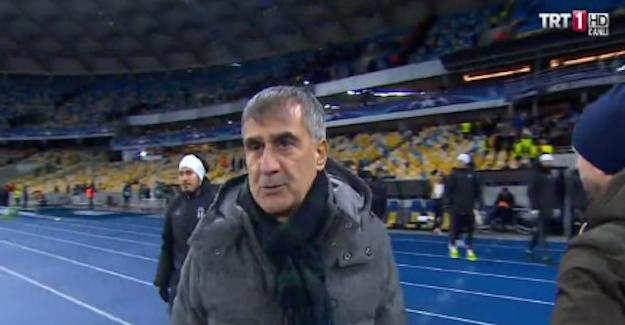 Efendi Beşiktaş'a yakışmadı, Şenol Güneş küfür etti!