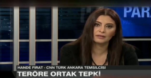 """Hande Fırat'tan HDP'ye sert sözler, """"Terörle aranda bağ var!"""""""