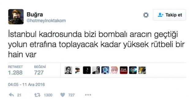 Patlama anında Beşiktaş'ta bulunan polis memurunun sosyal medya paylaşımları
