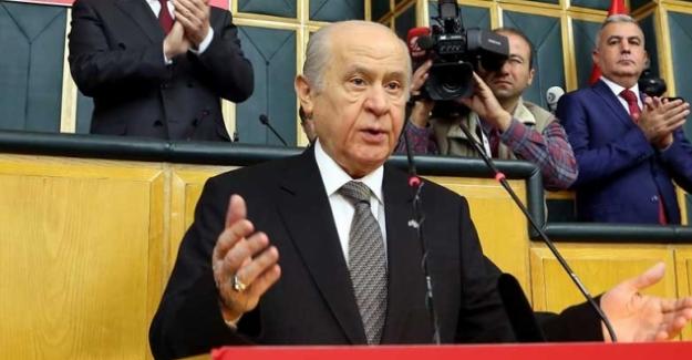 """Bahçeli, """"Erdoğan'ın arkasında milletin duası var"""""""