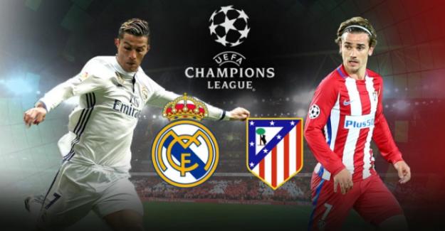 ŞL, Real Madrid - Atletico Madrid maçı ne zaman, hangi kanalda?