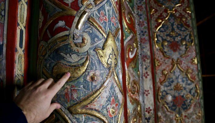 500 yıllık süslemeler ortaya çıktı