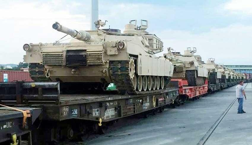 ABD, Türkiye sınırına tanklar yığıyor!