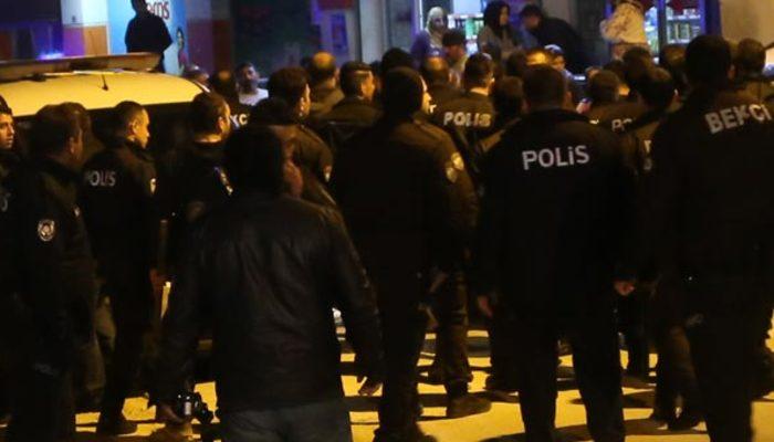 Adana'da tehlikeli gerginlik! Çok sayıda polis olay yerine sevk edildi!