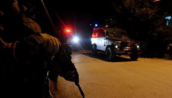 Ağrı'da terör örgütüne yönelik eş zamanlı operasyon: Çok sayıda gözaltı var!