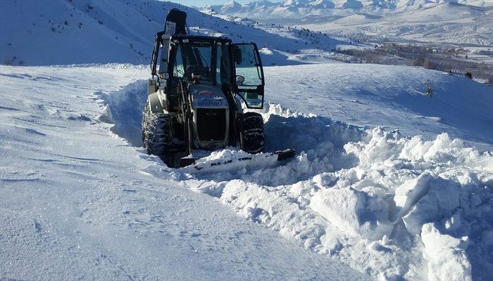 'Akdeniz'in Sibiryası'nda yollar açıldı