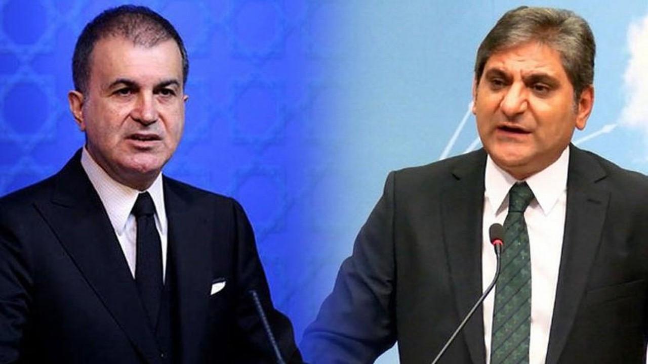 AKP'li Ömer Çelik'in ifadelerine CHP'li Aykut Erdoğdu'dan yanıt
