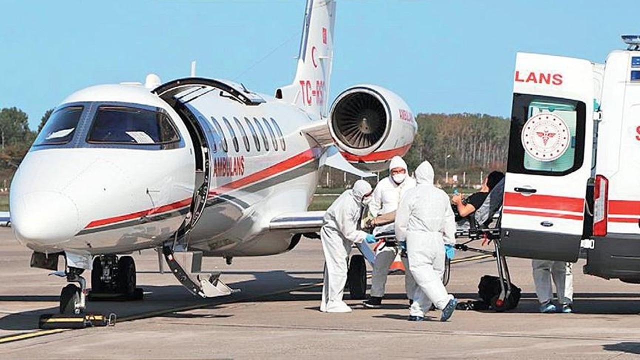 Ambulans uçaklarla Coronalı hasta taşınıyor!..