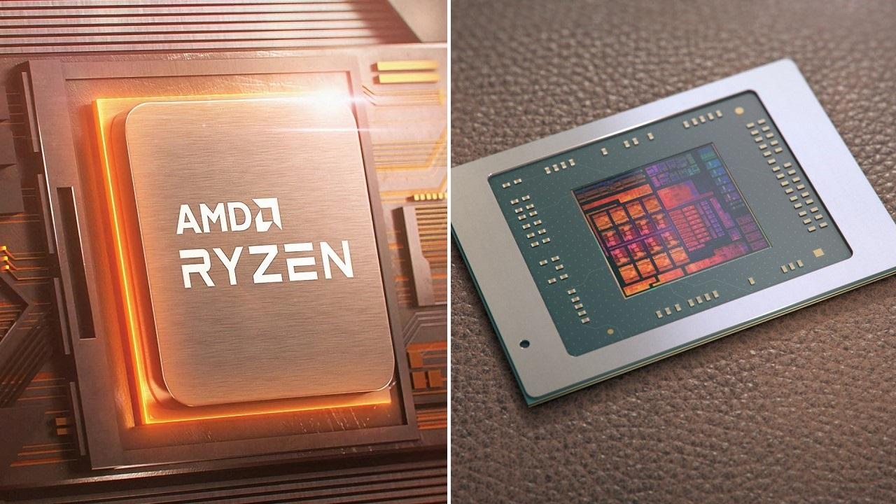 AMD'den 6 nm Zen 3+ sürprizi: Ryzen 9 6900H