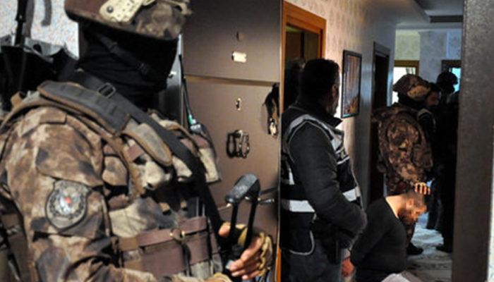 Ankara'da dev uyuşturucu operasyonu! Çok sayıda gözaltı