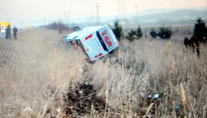 Ankara'da sporcuları taşıyan araç devrildi! Ölü ve yaralılar var