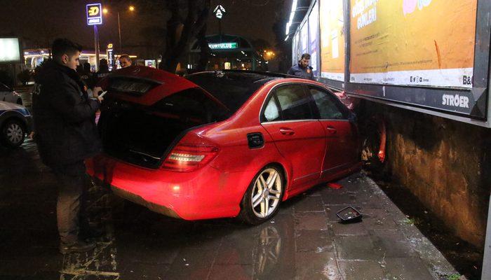 Ankara sokaklarını karıştıran kaza