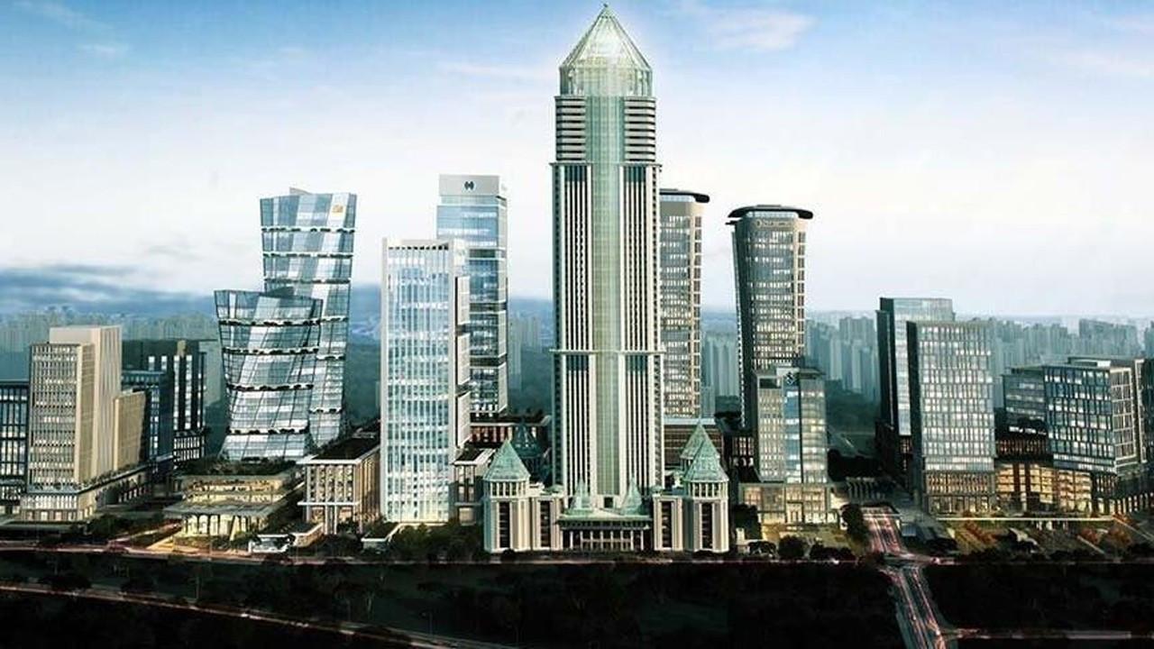 Avrupa'nın en yüksek binası inşa ediliyor