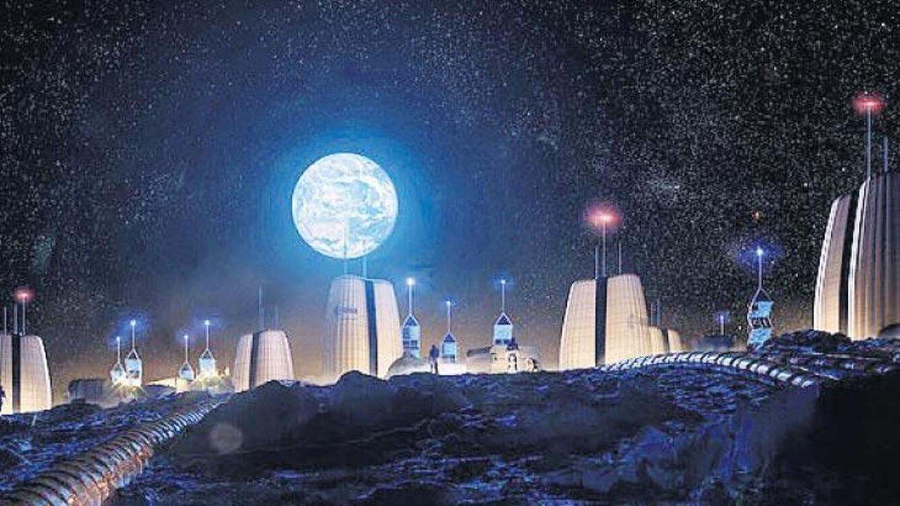 'Ay köyü' inşaatı 10 yıla başlıyor
