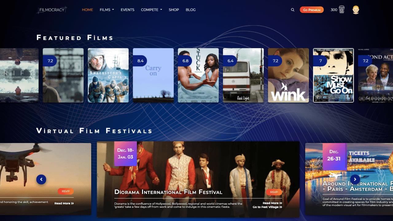 Bağımsız filmler ve film festivalleri için dijital yayın platformu: Filmocracy