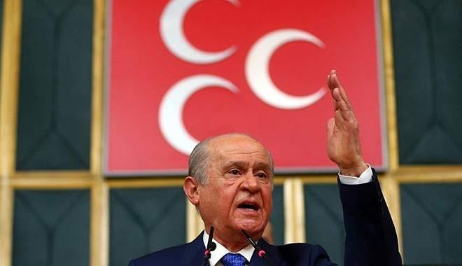 Bahçeli: Hiç kimse Türkiye Cumhuriyeti İçişleri Bakanı'nın boynuna tasma geçiremeyecek