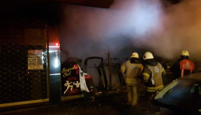 Bahçelievler'de polisi alarma geçiren şüpheli yangınlar