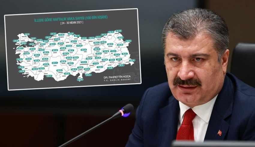 Bakan Koca il il vaka sayılarını açıkladı: İstanbul yine zirvede