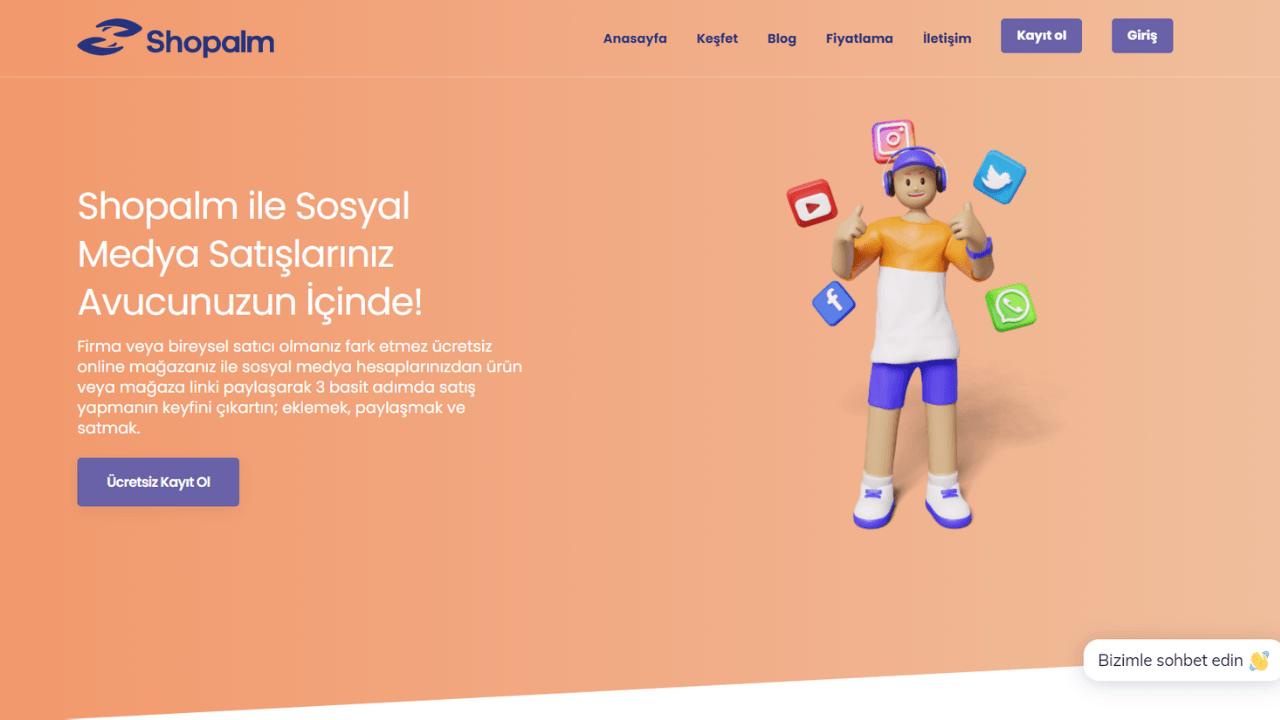 Bakiyem'in yeni dijital mağazacılık ürünü Shopalm yatırım aldı