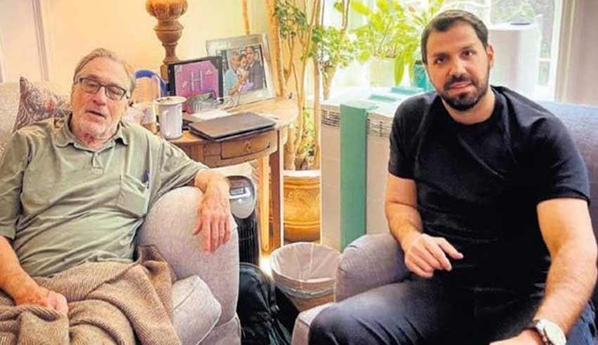 Baran Süzer'den Robert De Niro'ya geçmiş olsun ziyareti