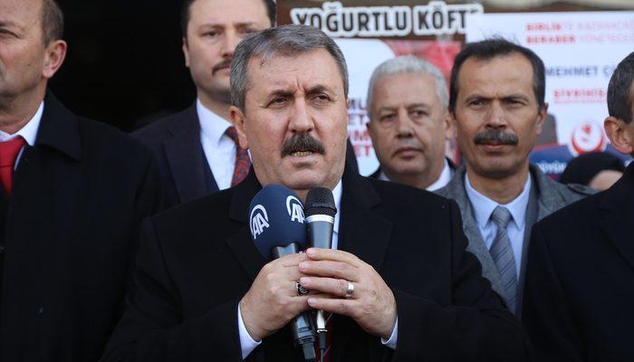 BBP Genel Başkanı Mustafa Destici: 100 bin Ermeniyi sınır dışı edelim