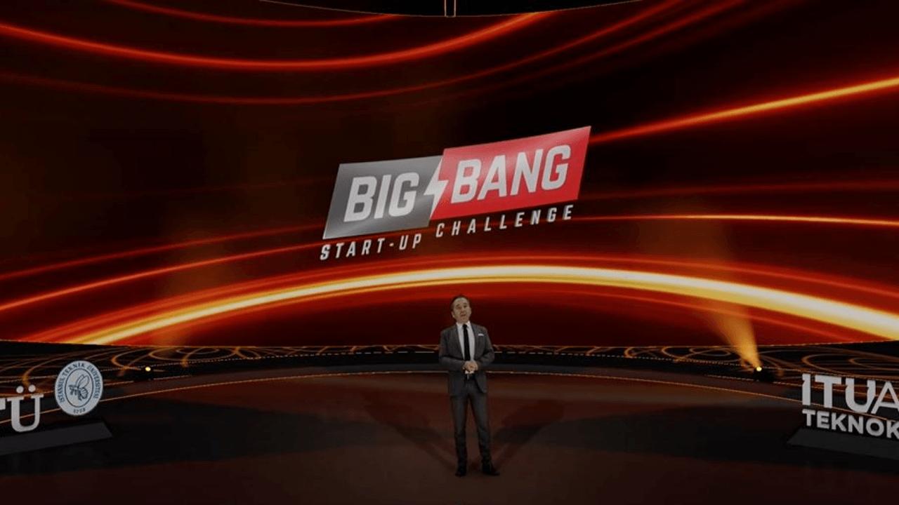 Big Bang Start-up Challenge sahnesinde 54 milyon 154 bin TL ödül ve yatırım dağıtıldı