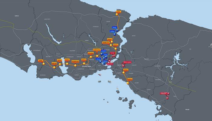 Binali Yıldırım, İstanbul'da D-100 ve TEM'e alternatif olacak tünel ağı projesini açıkladı