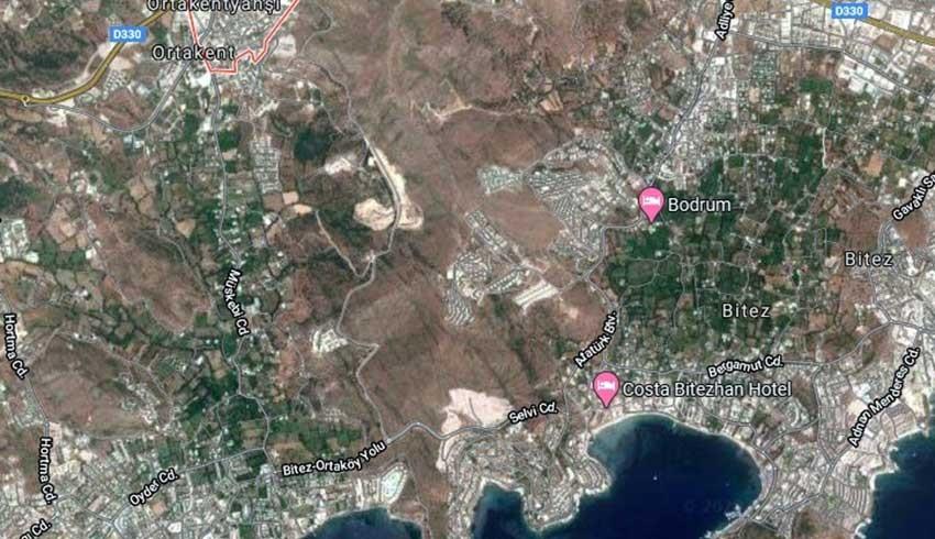 Bodrum'da 1,1 milyon metrekarelik sit alanıimara açıldı, tepki yağdı