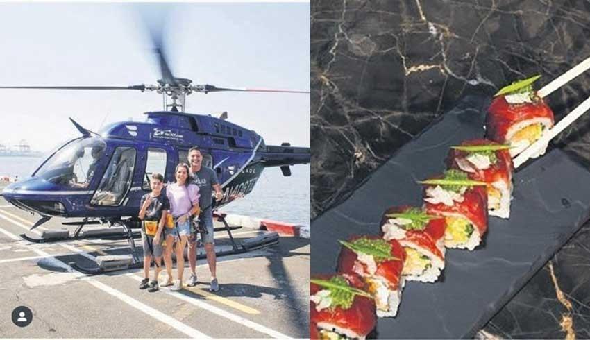 Bodrum'da lüks zirve yaptı! Helikoptere binmek 15 Bin Euro, ama helikopter yok!