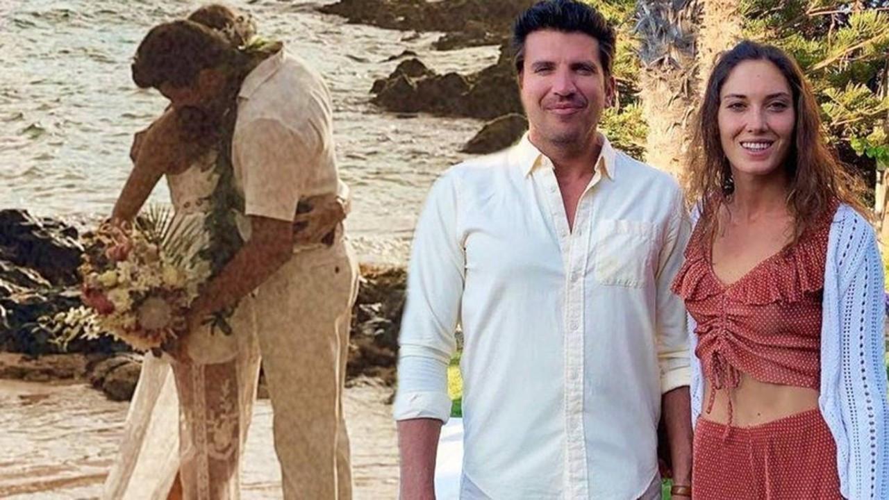 Bora Kozanoğlu ve Simay Arpacı Hawaii'de evlendi