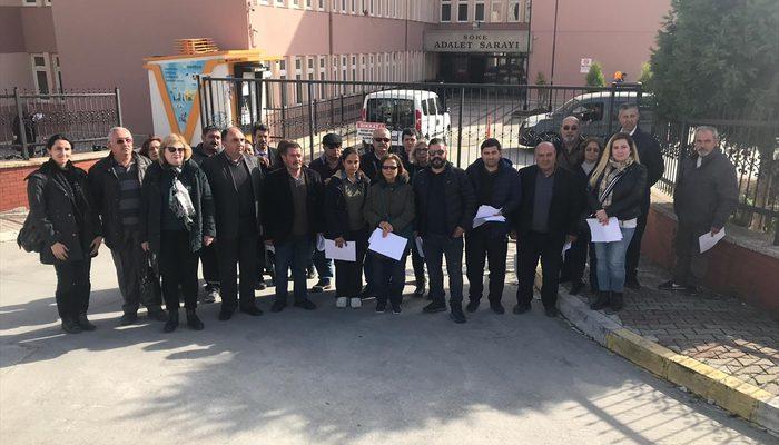 CHP Söke ilçe teşkilatına üye 35 kişi partilerinden istifa etti