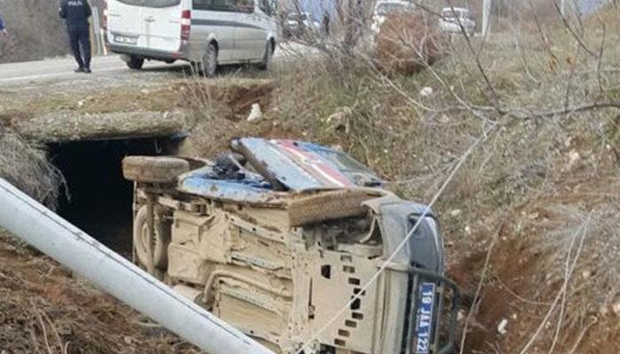 Çorum'da askeri araç devrildi: Yaralılar var