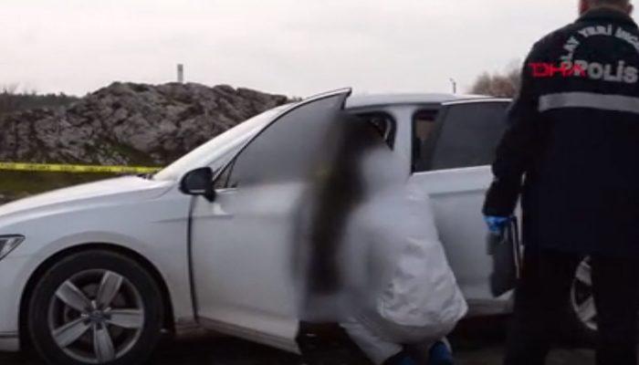 Çorum'da park halindeki otomobilde başından vurulmuş cesedi bulundu