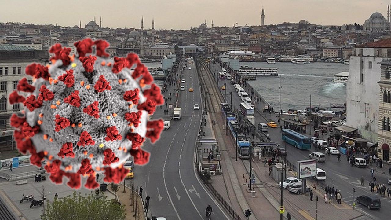 Covid-19 İstanbul'da oldukça tehlikeli bir boyut kazandı!